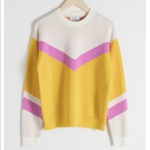 & other stories striped pullover
